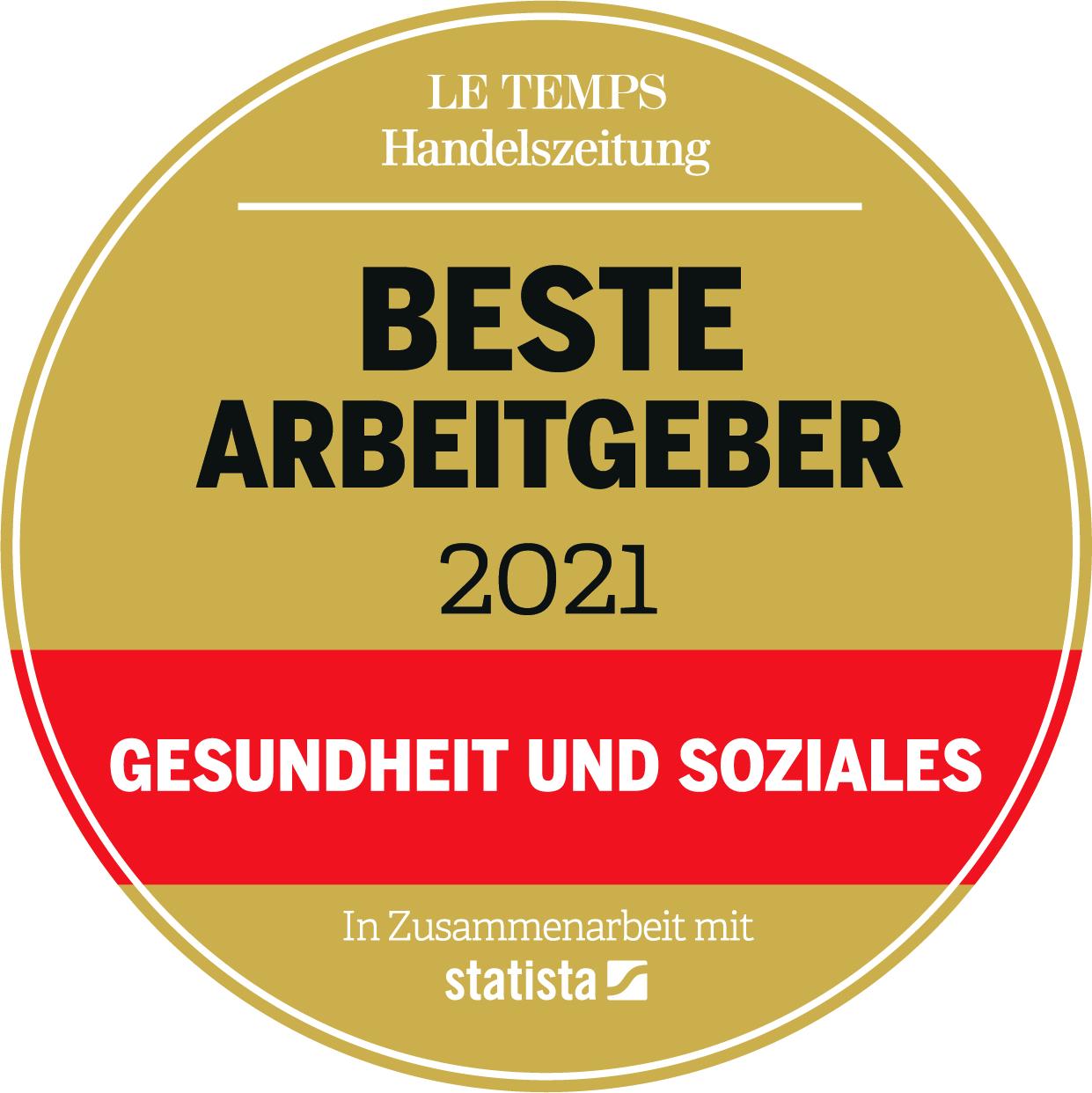 LeTempsHZ AG CH2021 Siegel DE GesundSozial