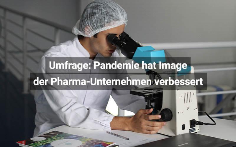 Pharma Unternehmen Verbessertes Image Durch Pandemie
