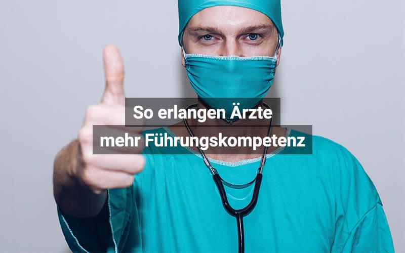 So Erlangen Ärzte Mehr Führungskompetenz
