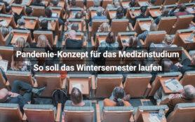 Pandemie Konzept Für Das Medizinstudium So Soll Das Wintersemester Laufen