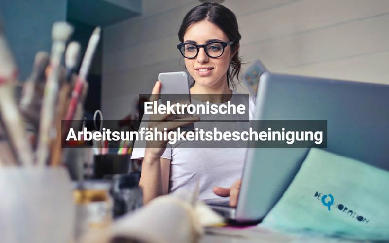 Elektronische Arbeitsunfähigkeitsbescheinigung (eAU) Start Am 1. Oktober 2021