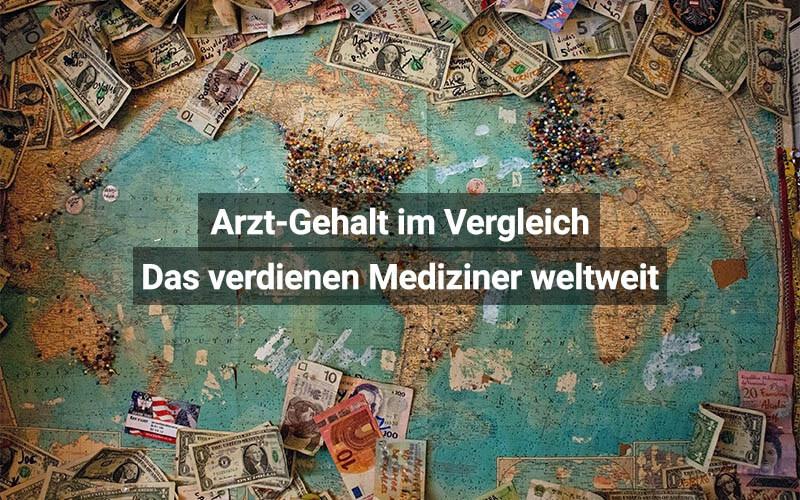 Arzt Gehalt Im Vergleich Das Verdienen Mediziner Weltweit