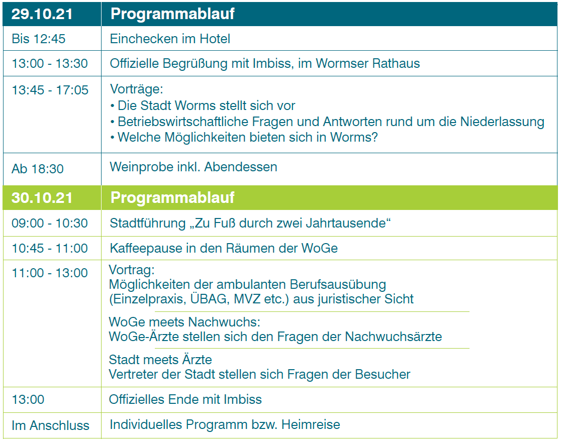 Programm ÄWE 2021