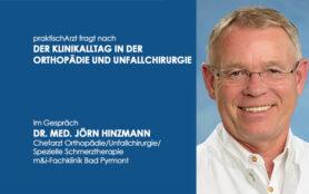Titelbild Interview Dr. Hinzmann Orthopädie