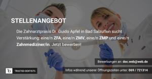Zahnarztpraxis Dr med dent Guido Apfel